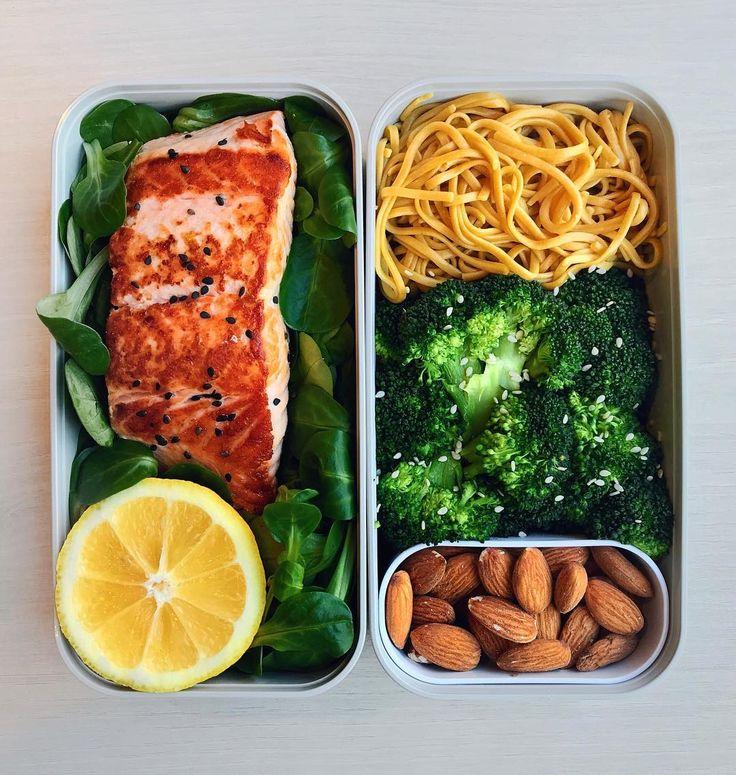 7,090 отметок «Нравится», 137 комментариев — Werner | Healthy Living (@wernou) в Instagram: «🇺🇸 Grilled Salmon, Spaghetti & Broccoli 🍃 Another incredible day spent under the snow ❄️ so I'm…»