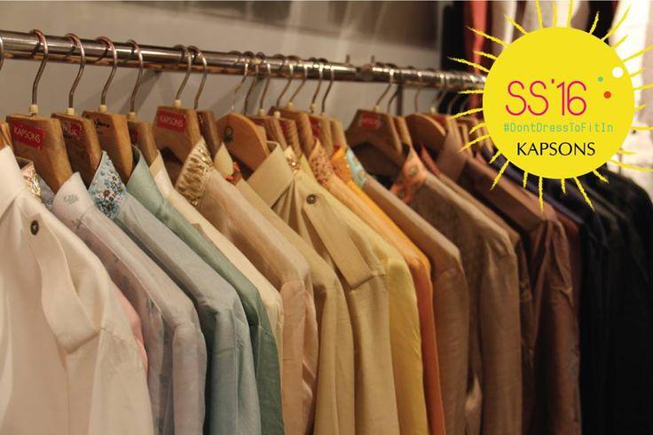 Shirts are fun, decode the new shirt style at Kapsons #EndOfSeasonSale. #Kapsons #ShopAtKapsons