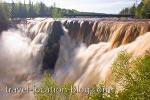 Kakabeka Falls near Thunder Bay, Ontario
