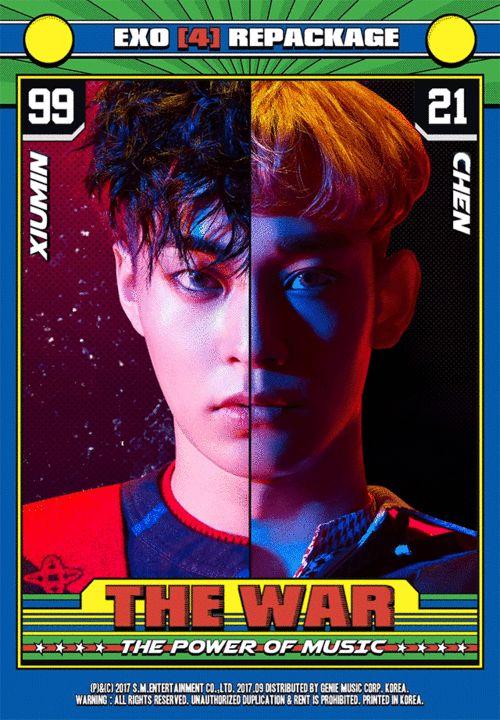 #엑소 '#TheWar: #ThePowerofMusic' 멤버들을 캐릭터로 만든 그래픽 노블 형태의 콘텐츠도 함께 구성 그래픽 노블: 탄탄한 스토리라인과 화려한 작화가 특징인 만화와 소설의 중간 형식 #EXO #Power