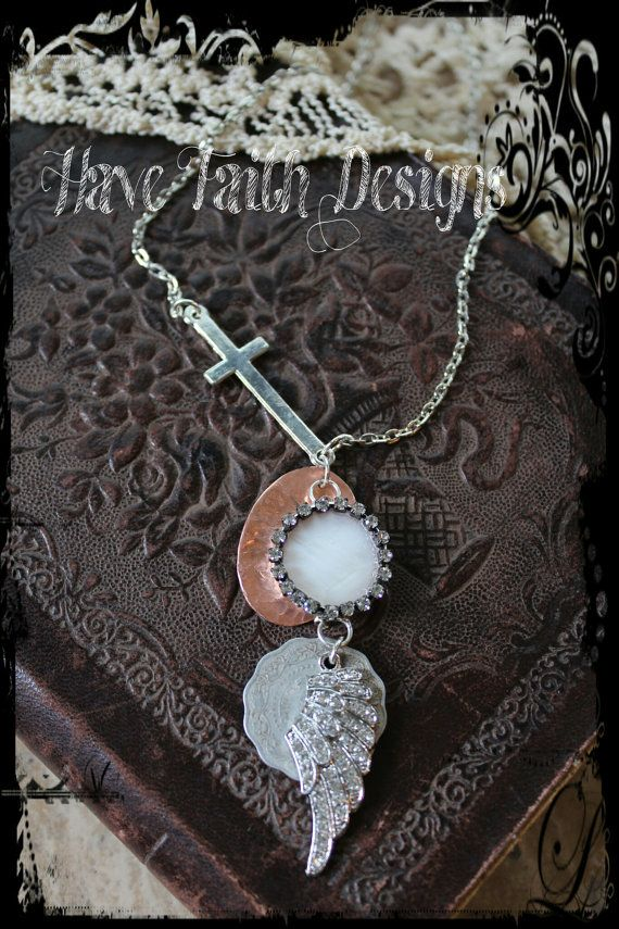 Wrapped in Faith necklace by HaveFaithDesigns on Etsy