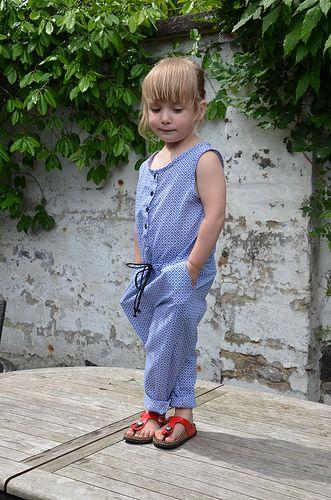 Ally jumpsuit by La Maison Victor. More DIY fashion inspiration: www.lamaisonvictor.com