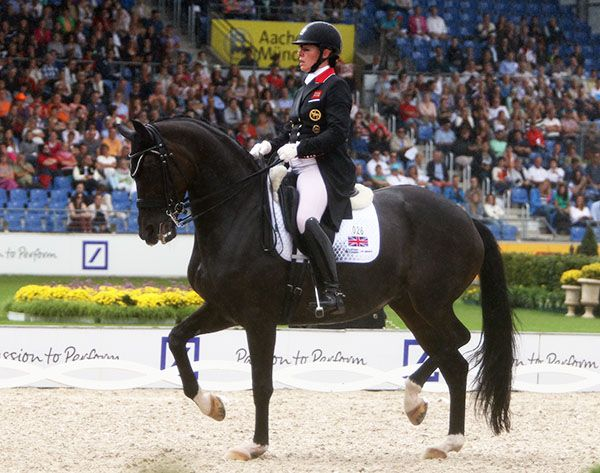Fiona Bigwood riding Atterupgaards Orthilia. File Photo © Ken Braddick/dressage-news.com