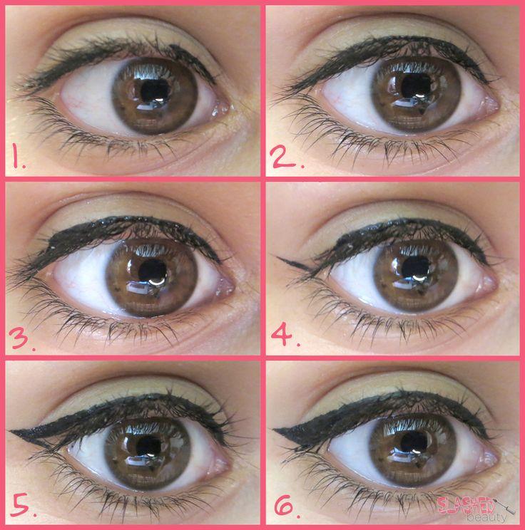 Slashed Beauty- Eyeliner Guide for Makeup Beginners