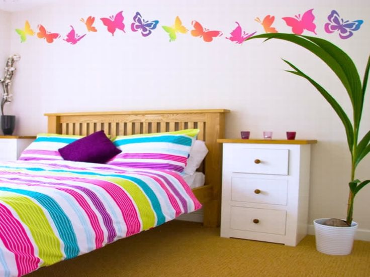 Best Teenage Girl Bedroom Paint Ideas Images On Pinterest - Pictures of girls bedroom painting ideas