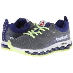 Zappos.com is proud to offer the Reebok - Z Jet (Foggy Grey/Violet Volt/White/Black) - Footwear: For a running experience unlike any other, the Reebok Z Jet offers unmatched comfort with full-foot air technology that flexes with the runner's foot. ; Part of the Moving Air Collection. ; Breathable mesh upper with synthetic Nanoweb overlays for durability. ; Low-cut silhouette for added mobility. ; Lace-up closure for optimal fit. ; Heel pull-tab for easy on and off. ; JetFuse technology ...