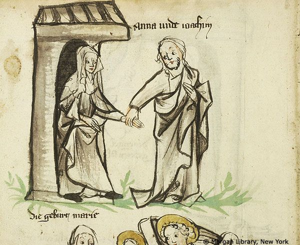 New Testament illustrations, MS M.719 fol. 1v - Images from Medieval and Renaissance Manuscripts - The Morgan Library & Museum