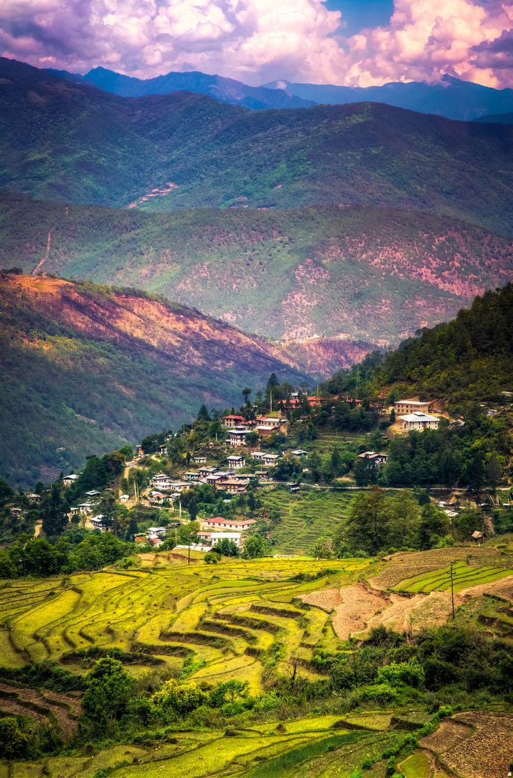 The secret Valley . Bhutan