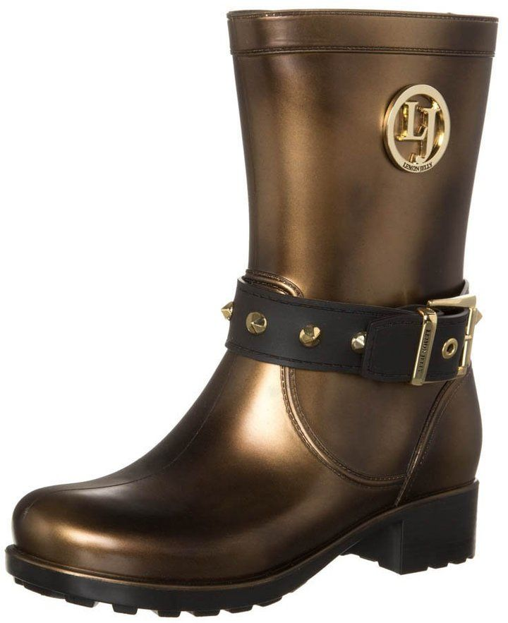 LEMON JELLY FAZED Wellies silver on shopstyle.co.uk £90