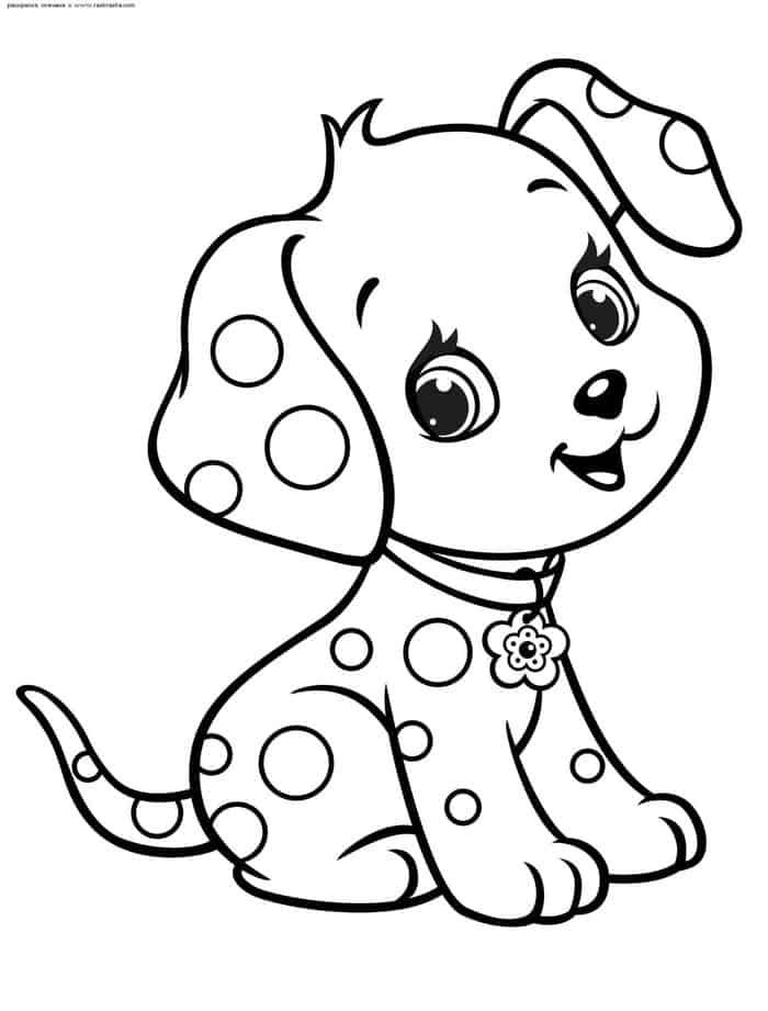 Coloring Pages Puppy