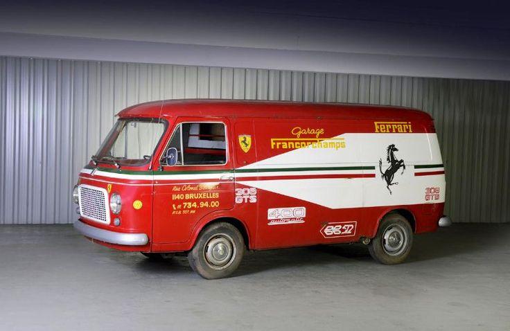 1973 Fiat 238 Ferrari Team Fourgon
