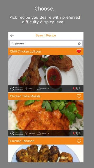 Great food app. For iPhone users.Proud to present our much awaited Curry App! Now you can access all our recipes with detailed instructions and videos. You can save your favourite recipes & add ingredients to your shopping list too. Below is the Apple appstore link: Android link follows. Keep calm and enjoy your curry!