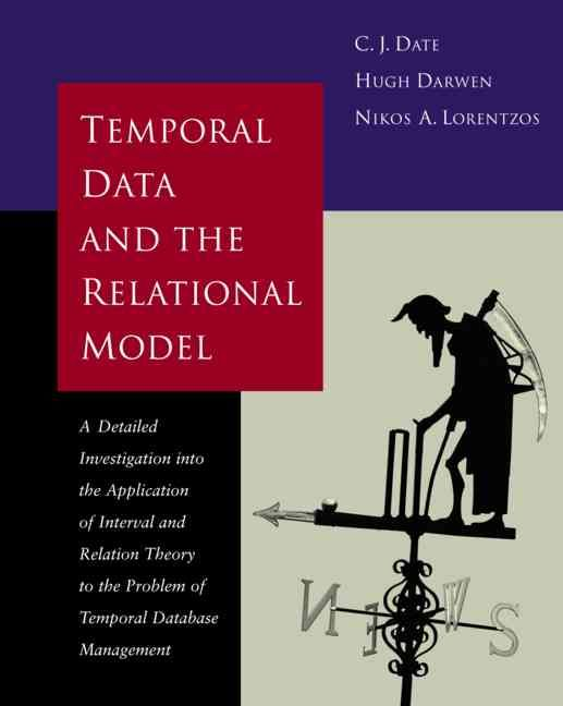 Temporal Data and the Relational Model: A Detailed Investigation into the Application of Interval and Relation Th...