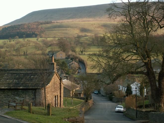 Pendle Hill, Lancashire, England - it's where my Pendleton ancestors came from…