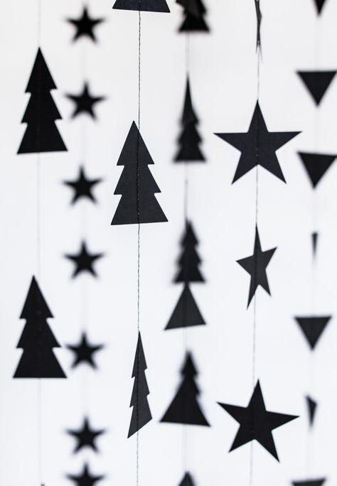 Weihnachten – Girlande Dekoration // Schöne Weihn…