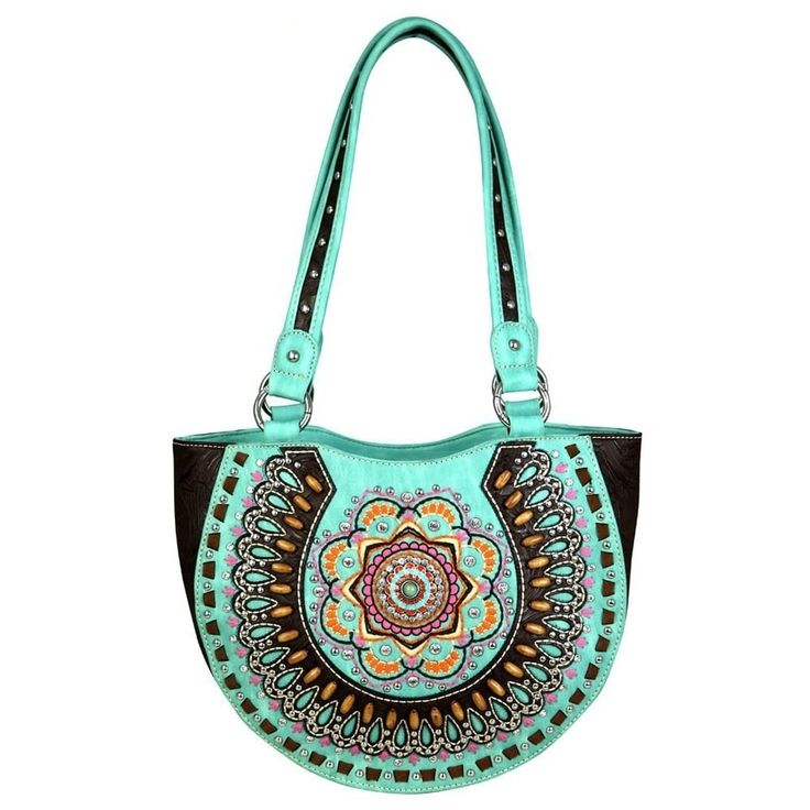 Montana West Concho Collection Concealed Handgun Shoulder Bag