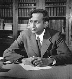 Subrahmanyan Chandrasekhar his contribution to physics is Chandrasekhar limit, structure and evolution of stars.