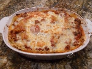 Lasagna a warm home cooked meal classic.