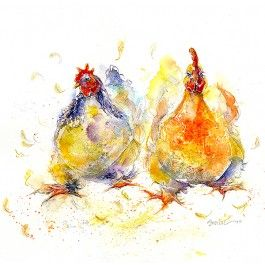 35 best animals cards fine art cards images on pinterest art chicken run greeting card m4hsunfo Images