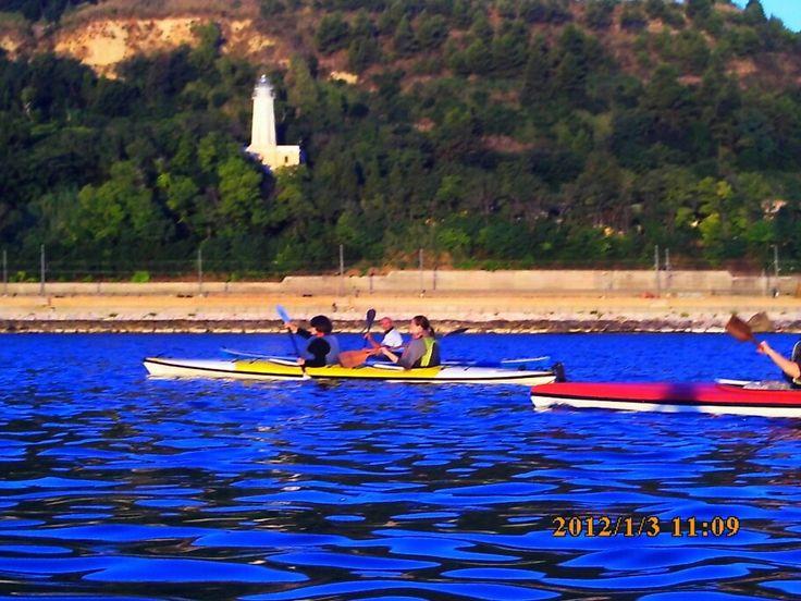 #kayakpicenum escursionefaropedaso#