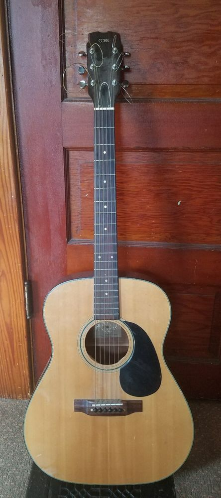 Vintage 1970's Conn F-11 Dreadnought Acoustic Guitar RARE MADE IN JAPAN    Does have some marks on it    The guitar will need new strings    Still plays     Please inspect photos for more information     THANKS AND be sure to check out all our other collectibles for sale | eBay!