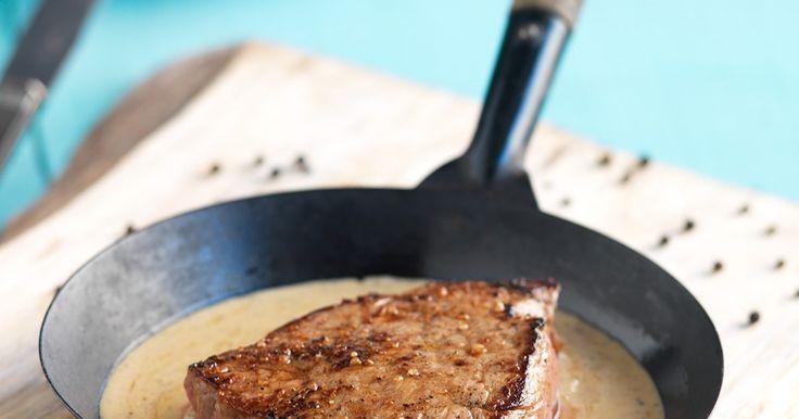 Veja esta receita de Bife da Vazia com Molho de Queijo azul e Pimenta preta.Esta e outras deliciosas receitas no site Nestlé Cozinhar.
