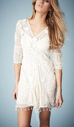 Gorgeous hippie boho bohemian gypsy style dress! For more follow www.pinterest.com/ninayay and stay positively #pinspired #pinspire @ninayay
