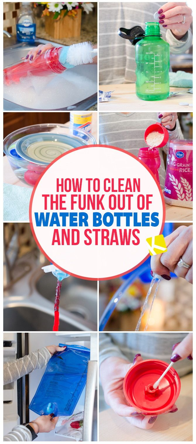 How to Clean the Mold & Funk Out of Water Bottles