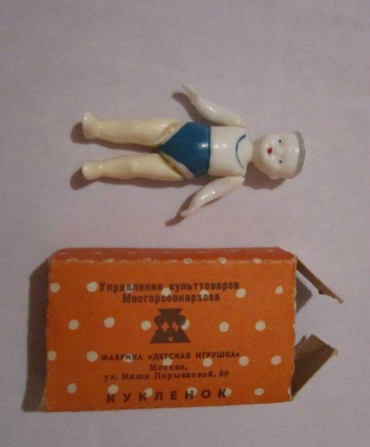 Куклёнок. Куклы СССР - http://samoe-vazhnoe.blogspot.ru