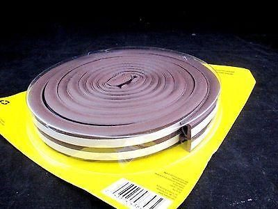 M-D 43848 All-Climate Silicone Rubber Window Seal Tape, 17 Feet, Brown