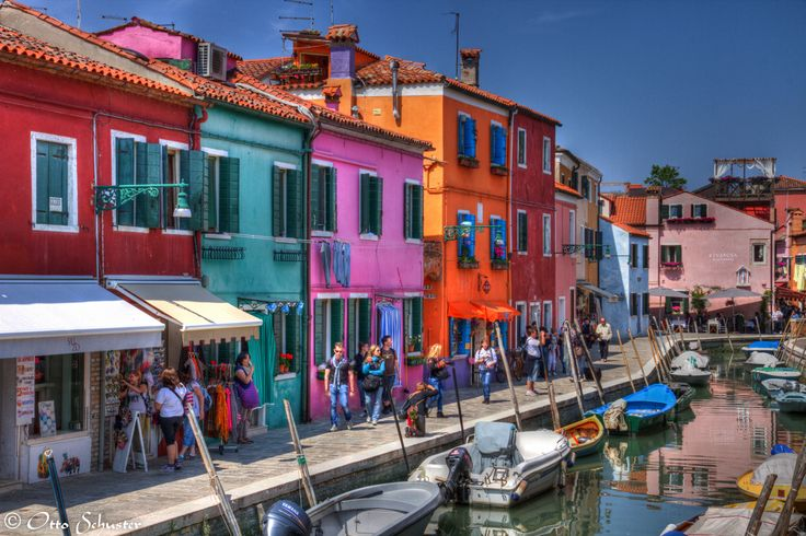 Italy, Burano by Otto Schuster on 500px