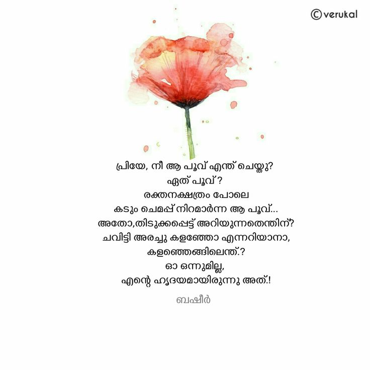 Malayalam Love Pudse Get Lost: Malayalam Quotes