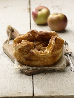 Rustic Apple Tart via Tatte cookies and cakes