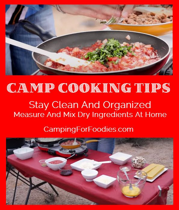 Camping Recipes And Cooking Tips