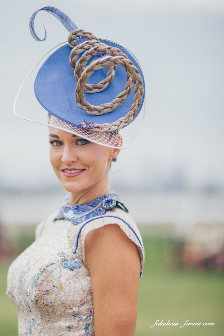 Wearing a fascinator draws attention to your number one asset, your face. www.stylestaples.com.au