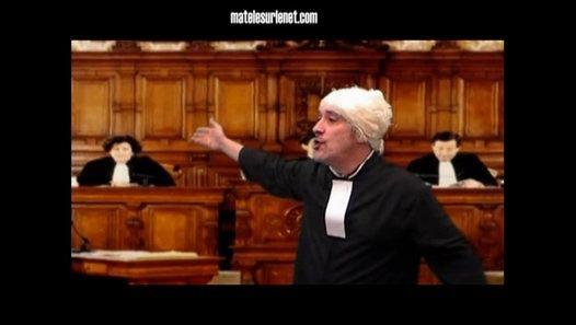 Nous assistons là à une merveilleuse plaidoirie du célèbre avocat Maître Bernard.