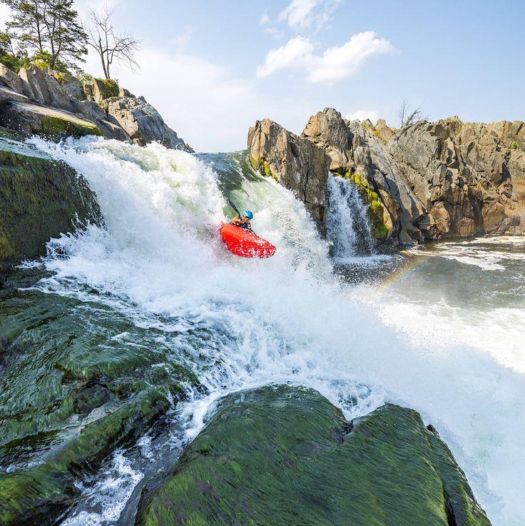 Great Falls, on the Potomac River, Washington