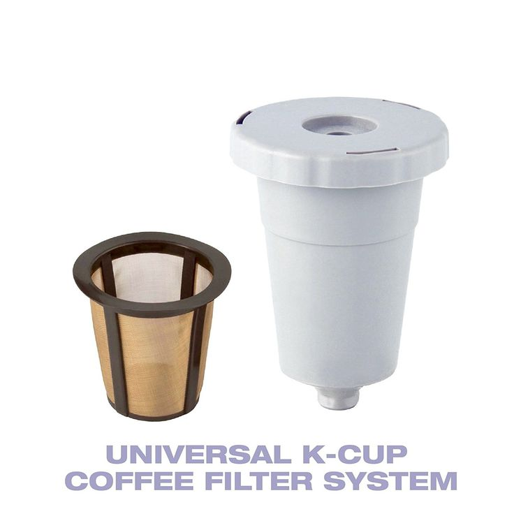 GoldTone Reusable K-Cup Style Coffee Filter System Starter Pack, Gold