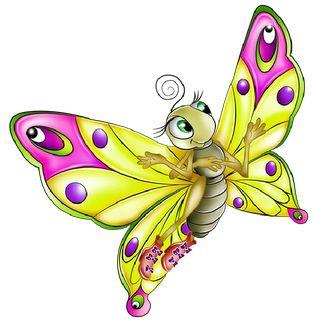 Butterflies Cartoon Clip Art