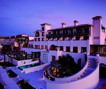 Los Cabos Vacations - Hotel Sandos Finisterra Los Cabos All-Inclusive. Overlooking the town of Cabo San Lucas, this hotel offers incredible views, a secluded 7-acre private beach and a critically acclaimed restaurant.