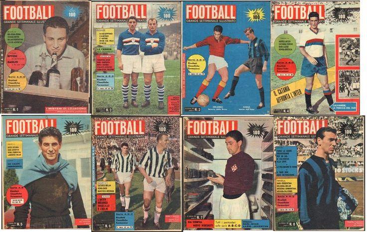 Calcio-Riviste-Primi 8 numeri del 1961