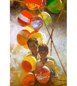 Balloons Paintings
