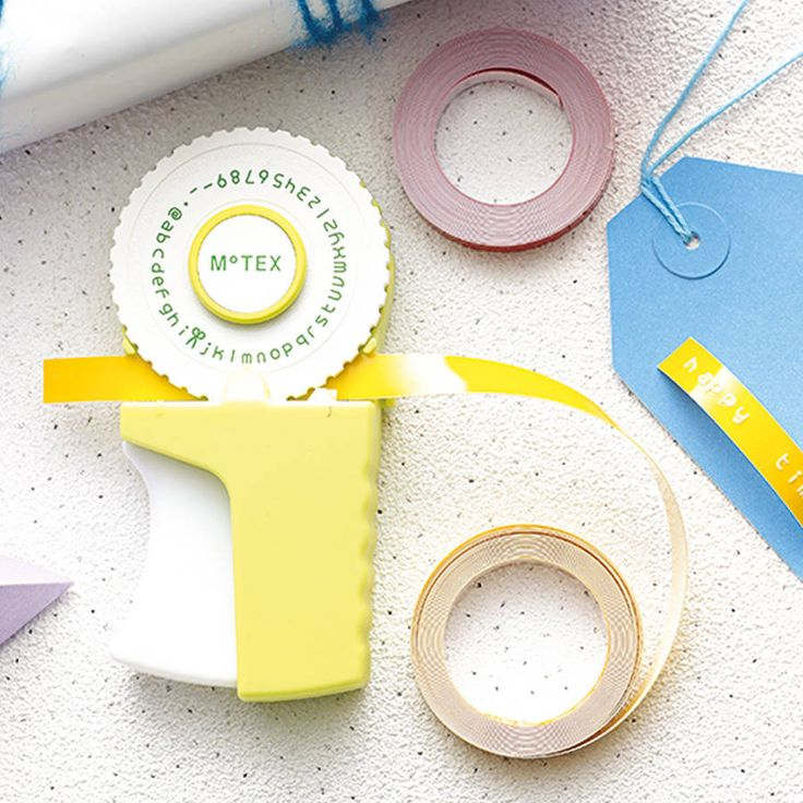 retro embossing label maker by oh my | notonthehighstreet.com