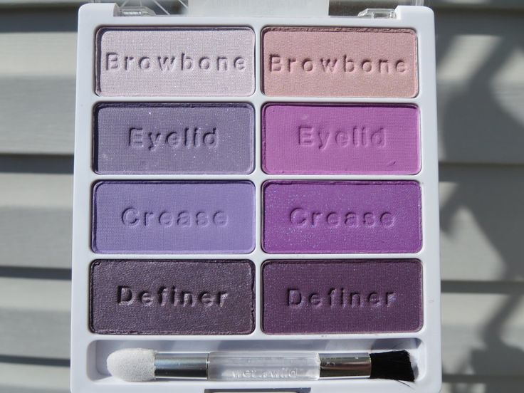 wet N wild flirting at the after party palette