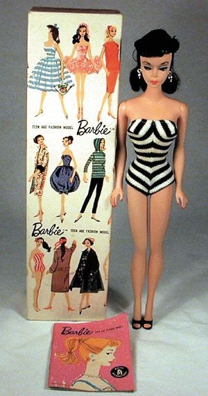 Ruth Handler invented the Barbie Doll in 1959.The full name of the first doll was Barbie Millicent Roberts.