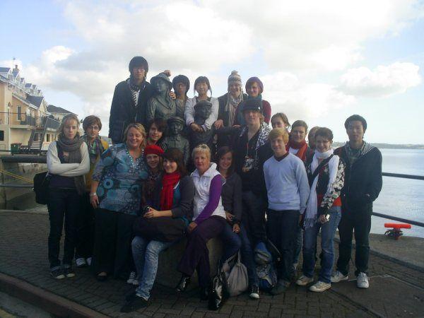 2009 - EIL group visit Ireland. #50EILIRL