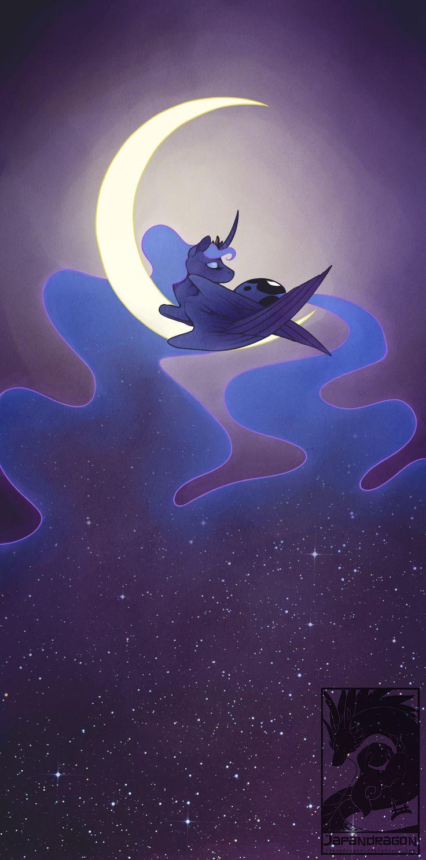 I am the moon and the stars by Japandragon.deviantart.com on @deviantART
