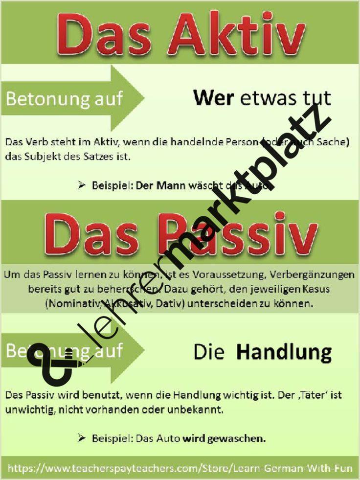 aktiv und passiv regeln und bungen unterrichtsmaterial im fach deutsch passiv. Black Bedroom Furniture Sets. Home Design Ideas