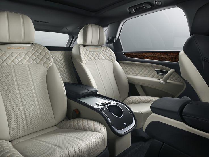 Bentley Mulliner bentayga роскошный внедорожник DesignBoom
