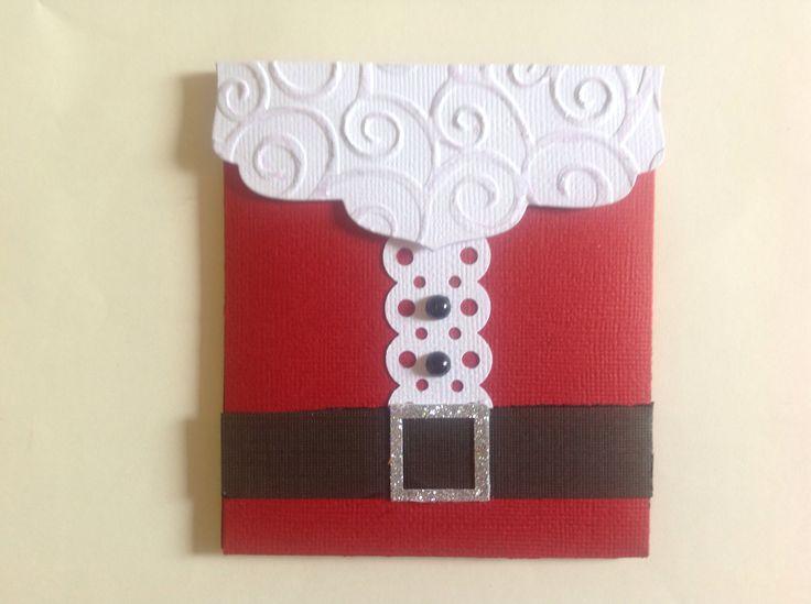 Xmas gift card holder by 2crafty chicks